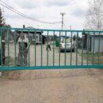 Установка откатных ворот на въезде в СНТ