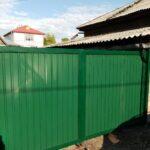 Распашные ворота в Иркутске