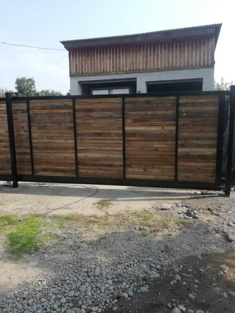 Откатные ворота в Жилкино