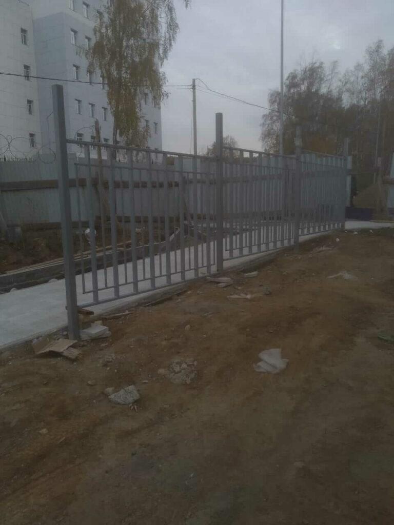 Забор в мкр.Союз