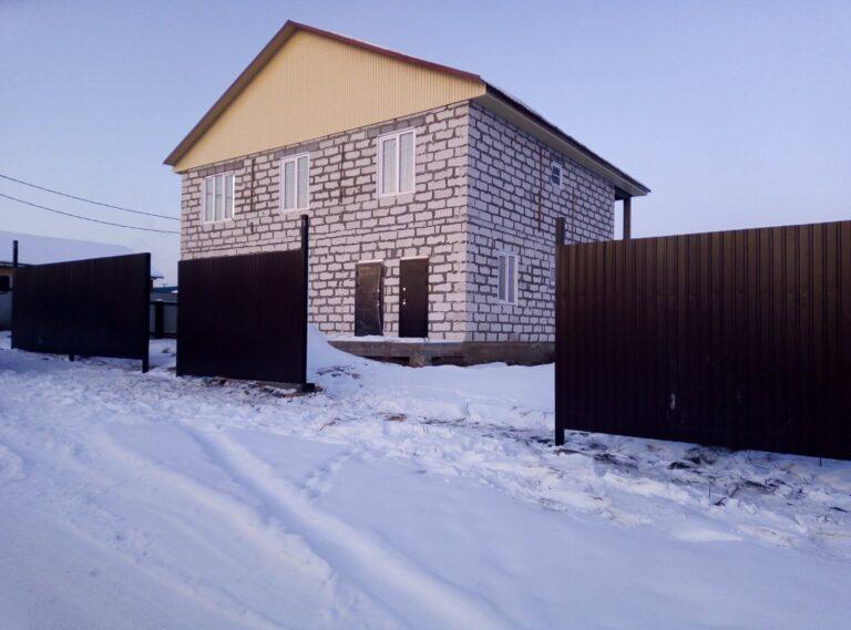 Забор и ворота в п. Хомутово
