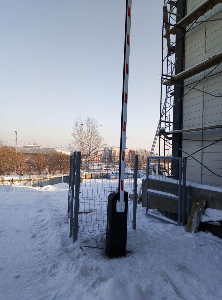 Шлагбаум в мкр. Союз, Иркутск