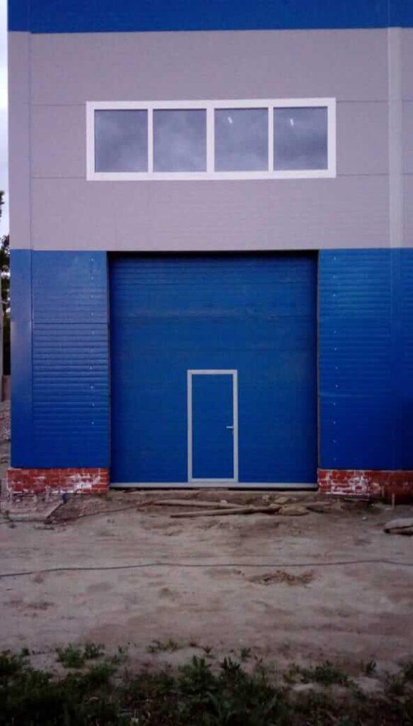 Промышленные ворота в РПЦ Ангарска