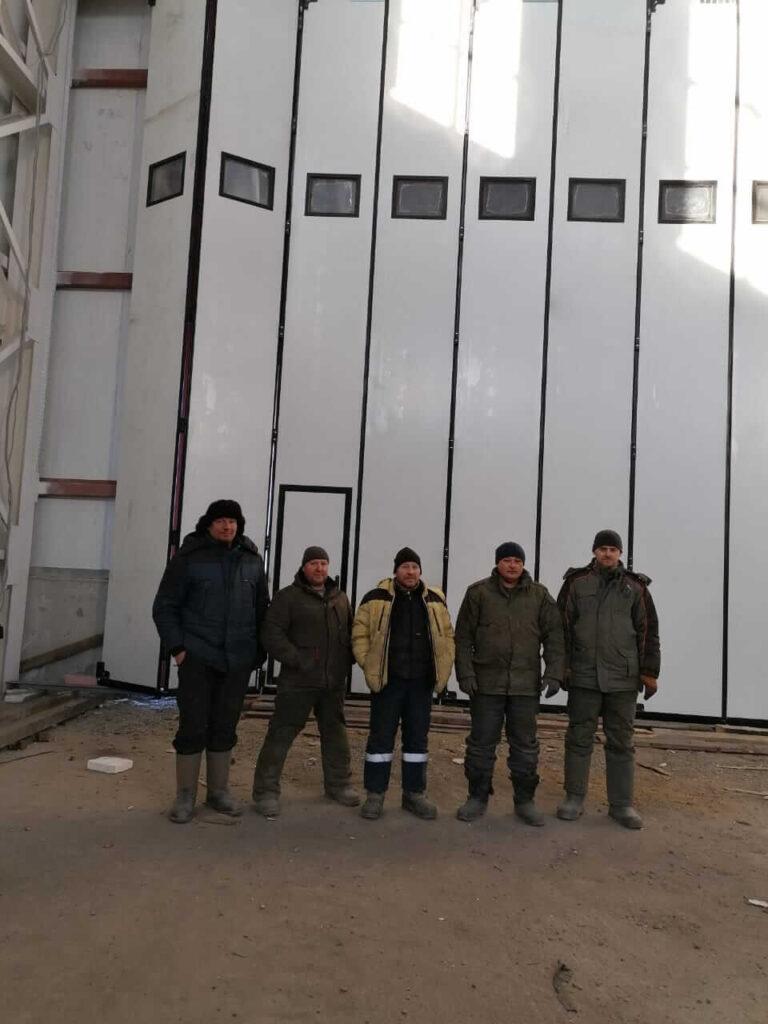 Промышленные ворота в Хабаровском крае